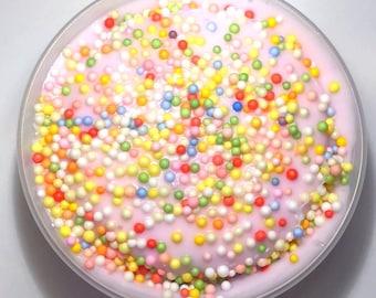 Pink Cereal Milk Slime