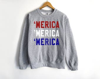 America Sweater | Usa Sweater | America Flag Tank | Patriot Shirt | Independence sweater | 4th Of July Sweater | Independence Shirt