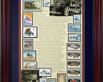 Auto Dealer 5964 - Personalized Framed Collectible (A Great Gift Idea)