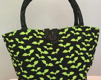 Bat**** Crazy Halloween Handbag