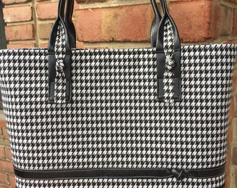 SALE--Classic LynnieLou in Black Houndstooth