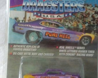 1972 Dodge Demon Pure Hell Dragster new on card