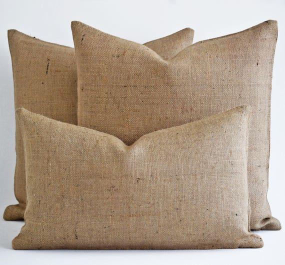 wholesale burlap pillow burlap pillow cover blank burlap. Black Bedroom Furniture Sets. Home Design Ideas