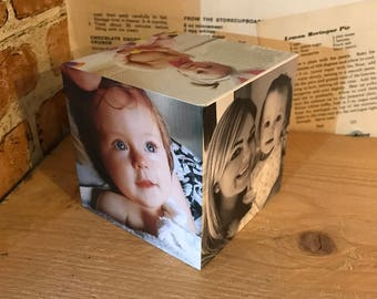 Wooden Photo Blocks