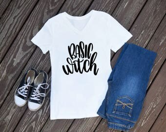 Basic Witch, Women's Halloween Shirt, Witch Shirt, Witch Halloween Shirt, Women's Witch Shirt, Adult Halloween Shirt, Women's Fall Shirt