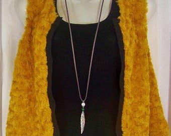 Boho Style  Long Necklace  Minimalist Style  Everyday Necklace