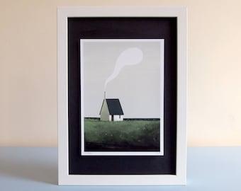 Moor Cottage - gicleé print