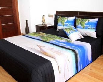 3D bed cover 220x240 cm