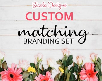 Custom Matching Branding Set - Logo Add On