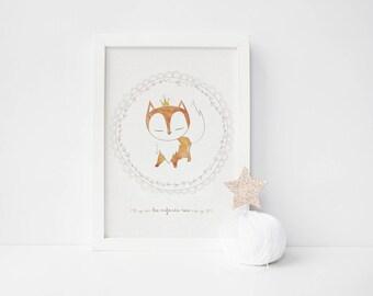 """Fox """"Children as kings"""" poster"""