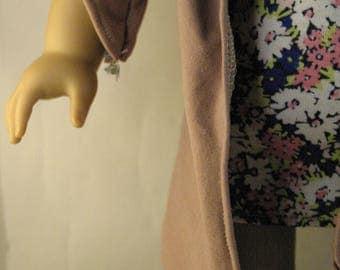 Cashmere Rose cardigan - doll clothing