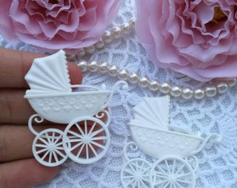 2pcs baby carriages
