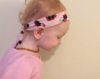 Minnie Mouse headband, pink headband, disney headband, homemade headbands, gifts for under twenty dollars, minnie accessory, youth headband