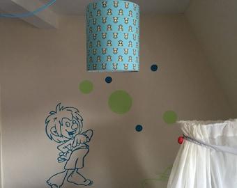 Children's lamps hanging lamp shade for children