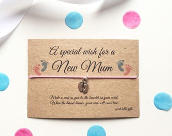 New Mum Wish Bracelet