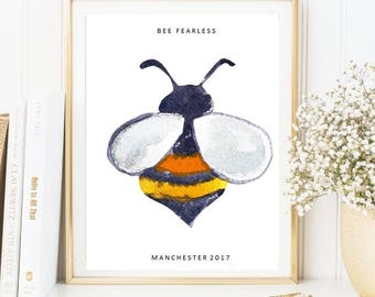 Manchester Bee - bee fearless