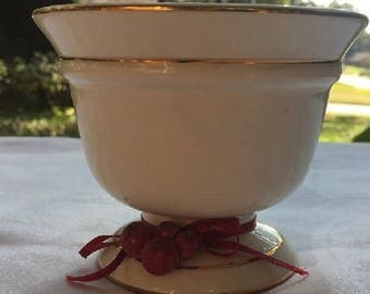 Vintage Bowl Candle holder