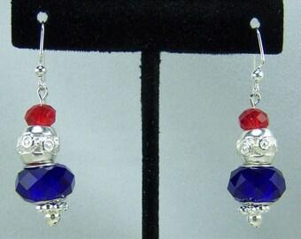 E210 - Patriotic Earrings