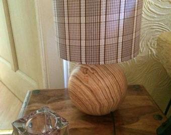 Brown Tartan Lampshade