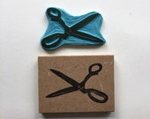 Rubber stamp | hand carved stamp | mounted or unmounted | stamping | scissors | sewing | papercutting
