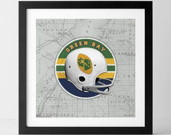 Vintage NFL: Green Bay Packers-inspired