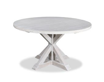 South Cone Home  Treasure Reclaimed Wood Round Dining Table