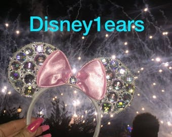 Diamontie glitter ears
