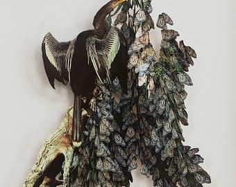 Bird in a Butterfly Tree