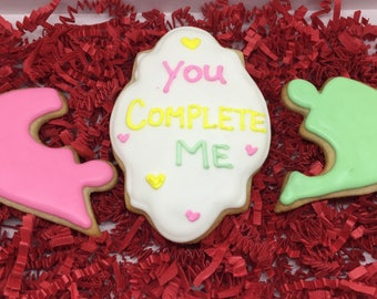 You Complete Me Cookies Gift Set