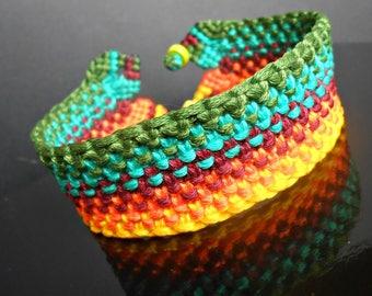 "Macrame boho bracelet ""5 color"""