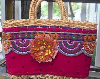 Veronica Prida Mini Market Bag