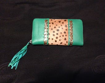 leather lady's purse/wallet