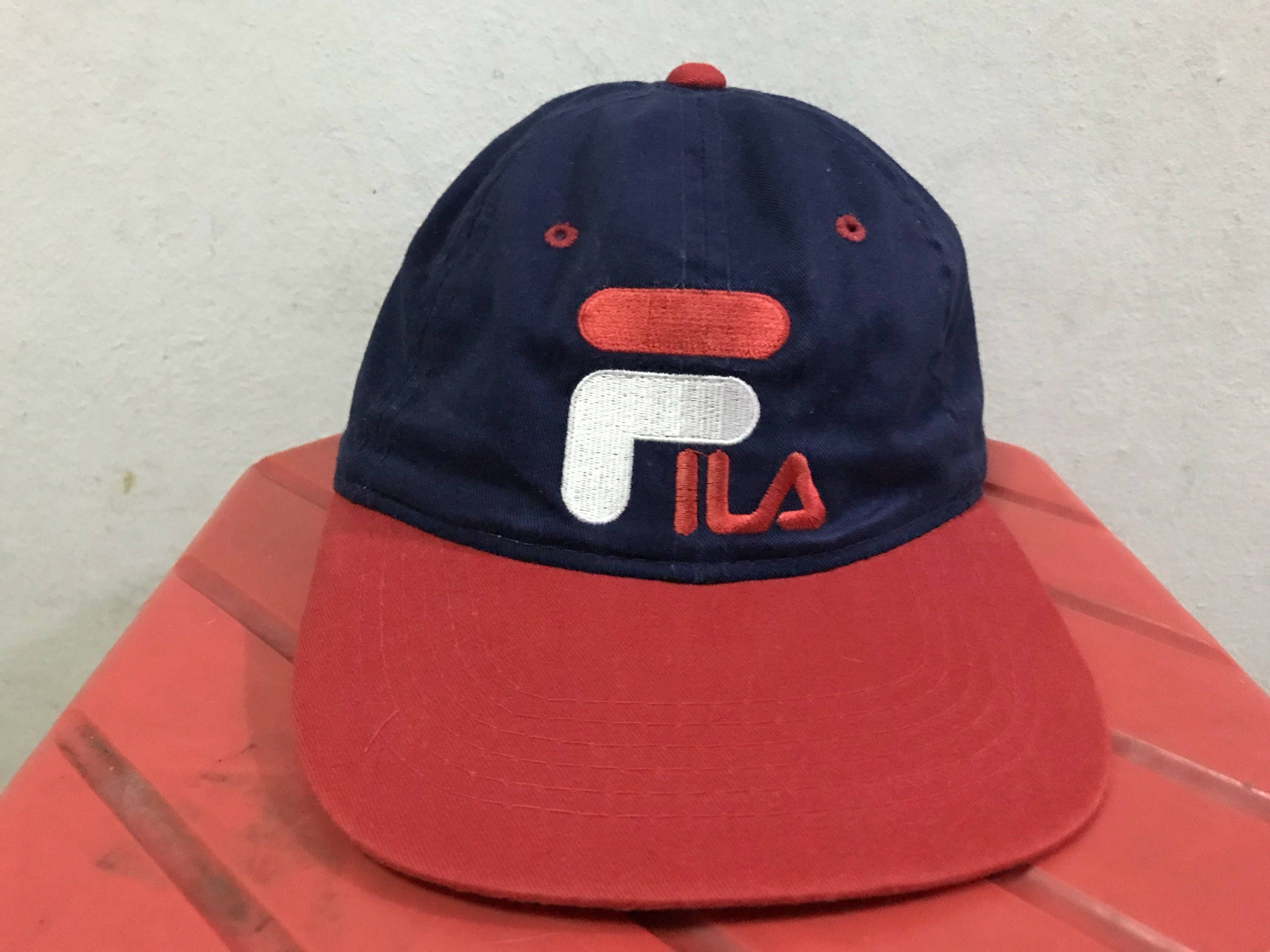 fila hat red