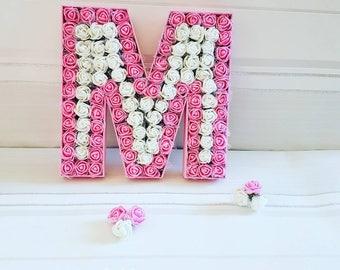 Pink custom flower