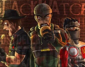 Blackwatch Lunch: Post Battle