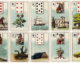 Lenormand Card Reading