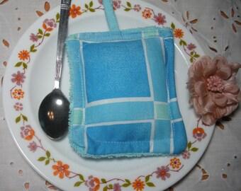 The blue sponge - sponge washable and reusable fabric