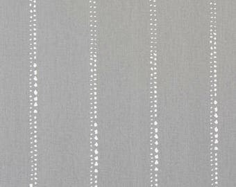 SALE! - Carlo Storm Twill Valance - Window Valance - 50 x 16 Valance - Kitchen Valance - Valance - Bedroom Valance - Window Treatment - Gray