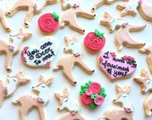 custom valentines oreder - 6 cookies