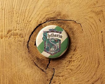"Slytherin (1-1/4"" Pinback Button)"