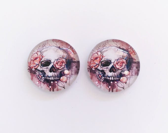The 'Clementine' Glass Earring Studs