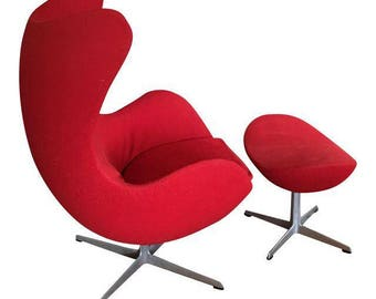 Egg chair   Etsy. Eames Wicker Womb Chair. Home Design Ideas