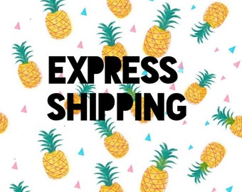 Priority express shipping