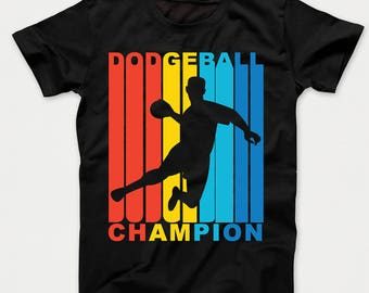 Retro 1970's Style Dodgeball Champion Kids T-Shirt
