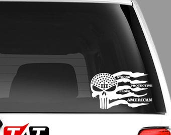 Strong Protective Proud American 3per Decal