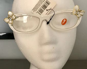 Butterfly white readers 2.00+