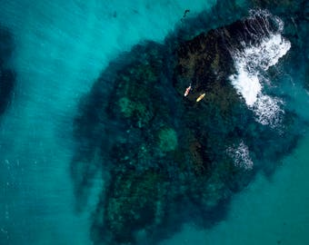 Laguna Beach: 'Just the two of us'  -  California // Aerial Beach Photography // Limited Edition prints