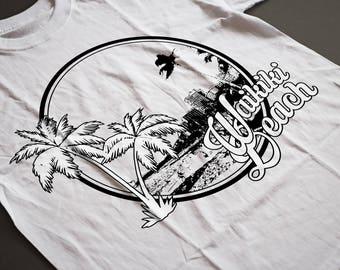 Waikiki, Waikiki Beach, Waikiki Hawaii, Waikiki design, Waikiki shirt