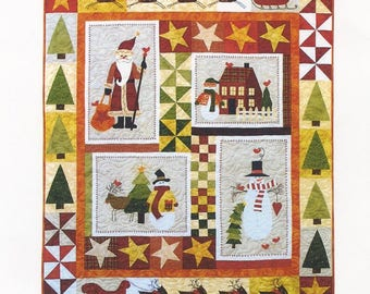 A Winter Delight Quilt Pattern