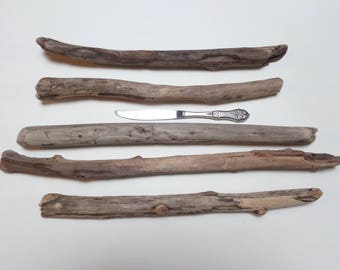 Driftwood pieces from Lake Erie - Driftwood supply - Long driftwood - Bulk driftwood - Driftwood decor - Driftwood for arts and crafts